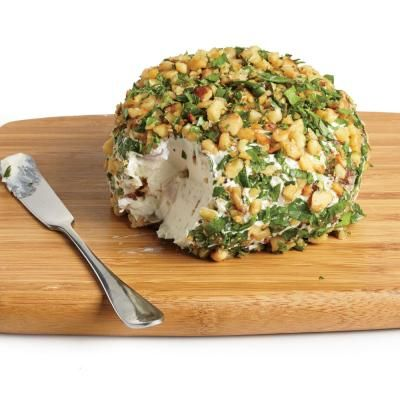 Superb Date, Walnut, And Blue Cheese Ball | CookingLight.com