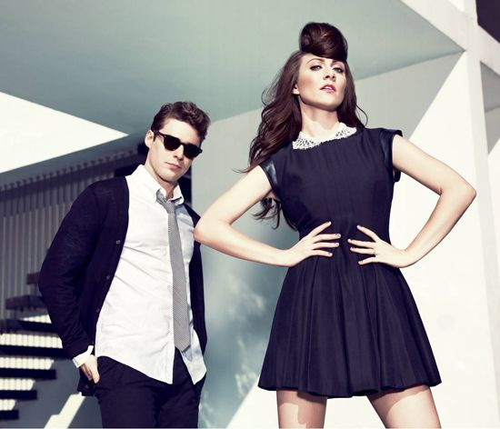 Don't let the cool pose fool you, Karmin is cute as hay-ell: http://buzzworthy.mtv.com/2012/05/08/karmin-i-told-you-so-video/