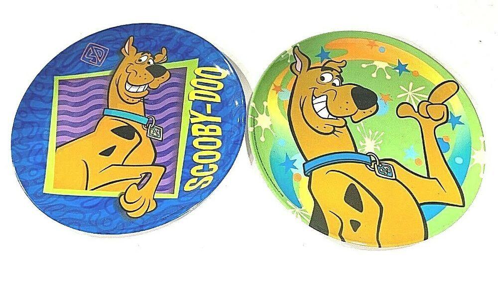 Scooby-Doo Scooby keychain vintage applause 1999 hanna barbera cartoon network
