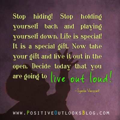 Embracing Who You Are   Positive Outlooks Blog