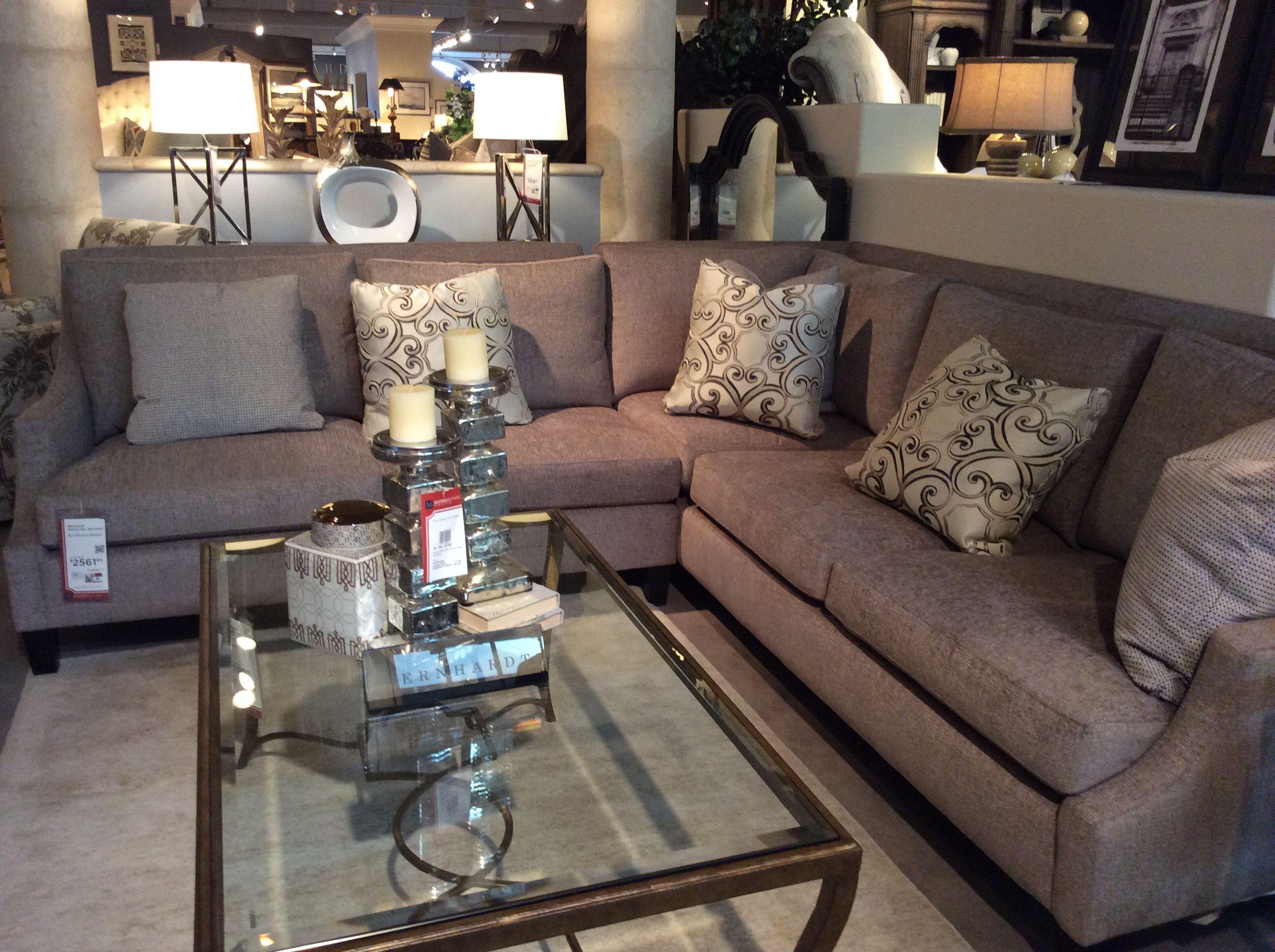 Bernhardt Marion sectional For the livingroom Pinterest