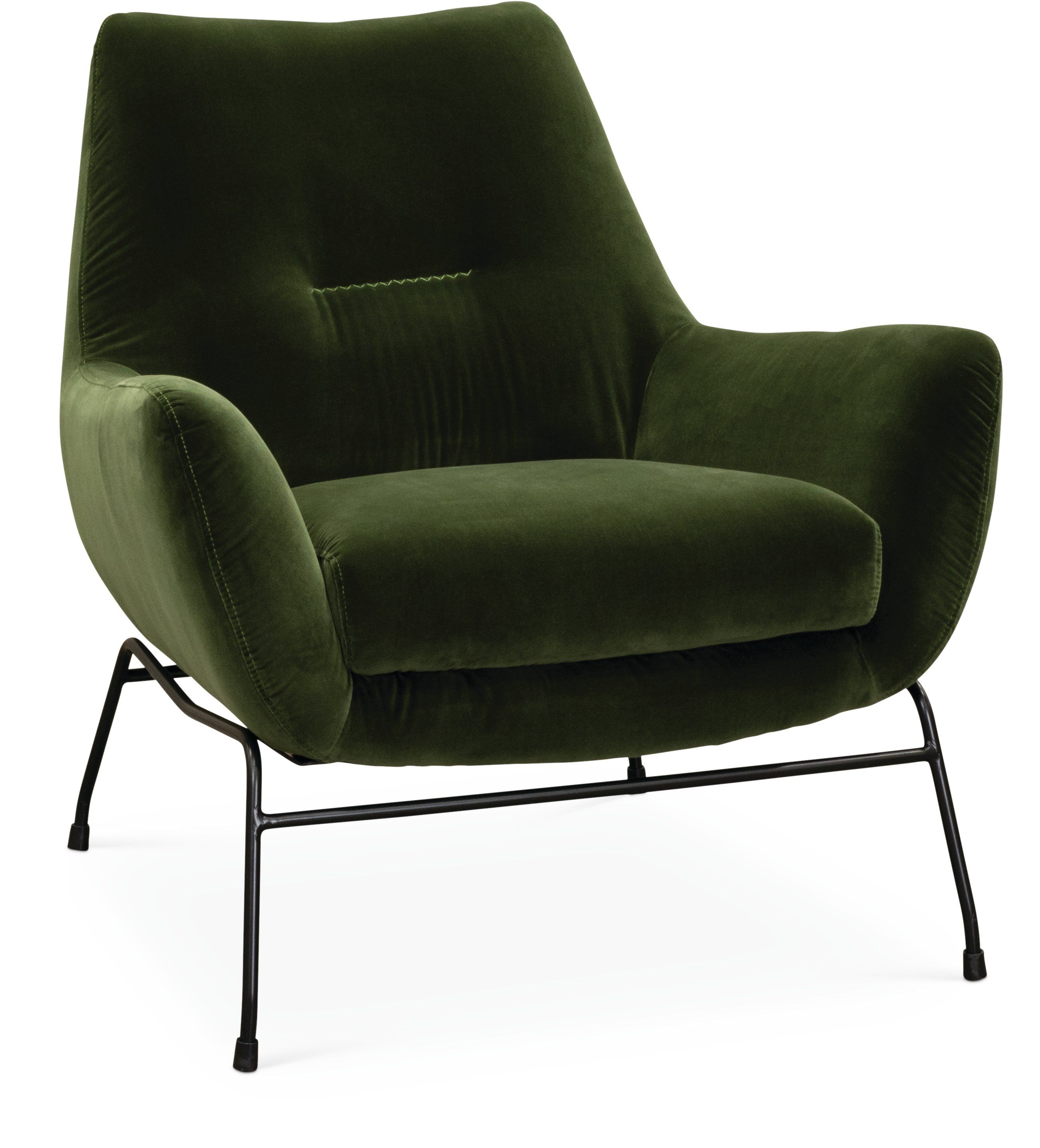 Mid Century Modern Olive Green Accent Chair Falkirk Rc Willey Furniture Store Green Accent Chair Green Armchair Green Chair