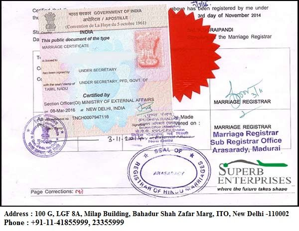 Superb Enterprises Private Limited offers premium Degree Certificate - copy apostille birth certificate massachusetts