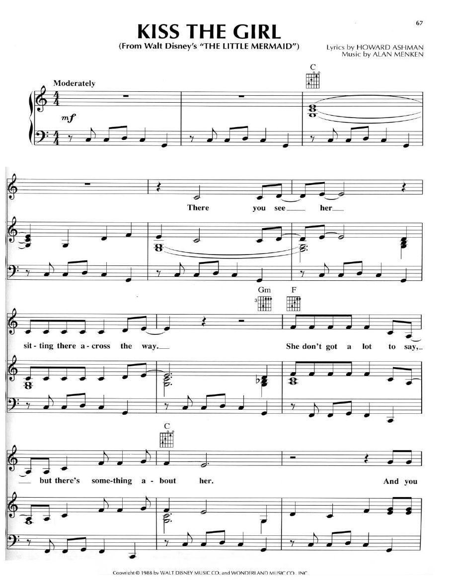 little mermaid lyrics - HD904×1169
