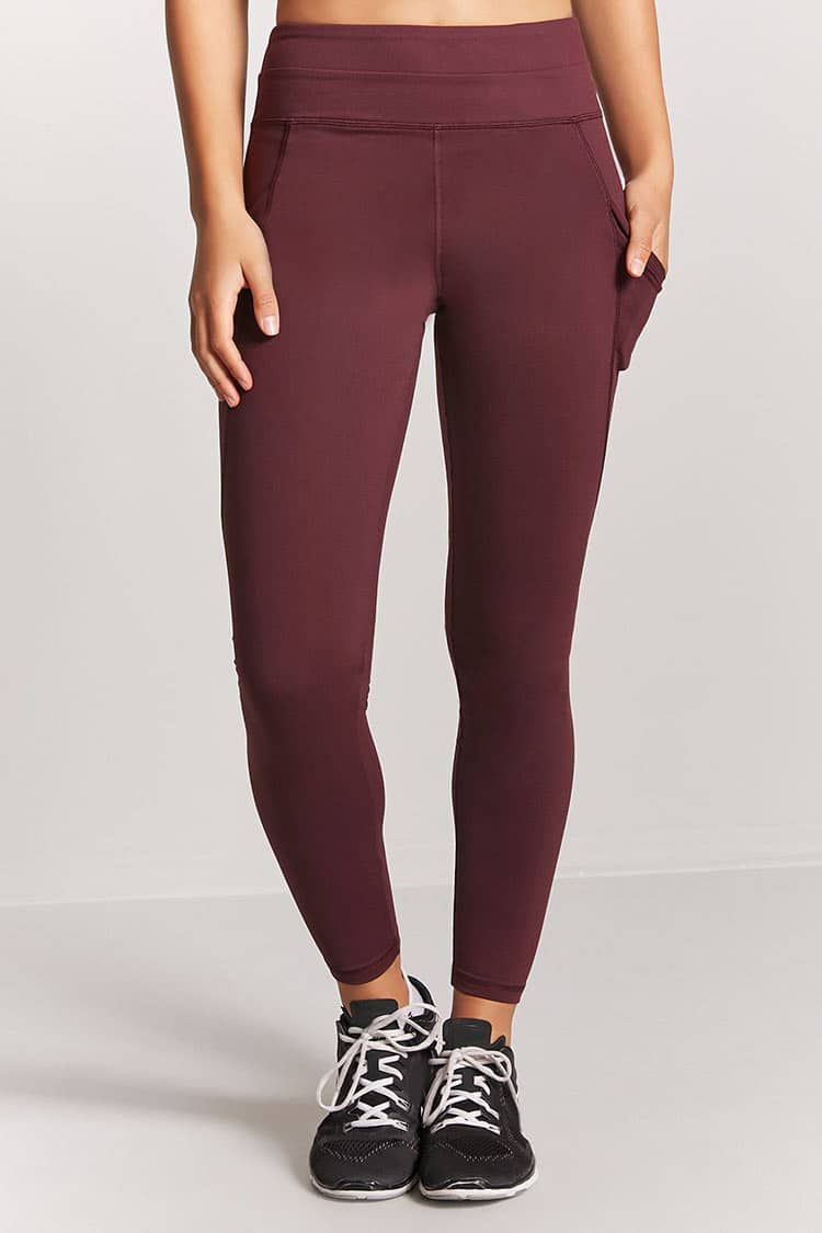 7cabf944c5920 Active Mesh Pocket Leggings - Women - Activewear - 2000089264 - Forever 21  Canada English