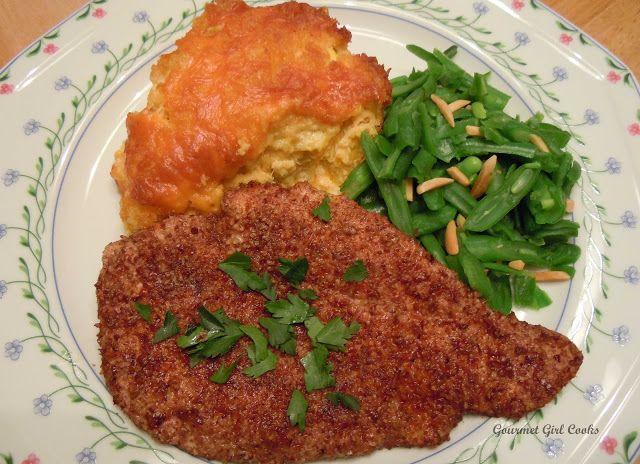 Gourmet Girl Cooks: Pecan Encrusted Chicken Breasts