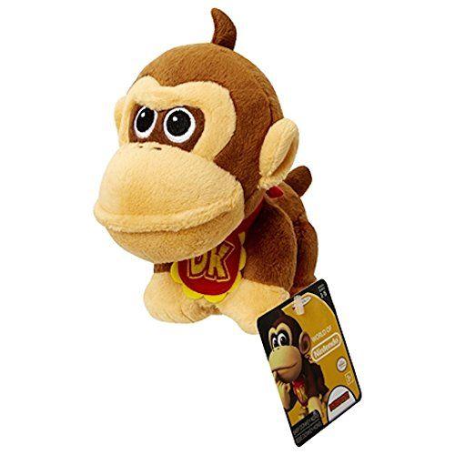 World of Nintendo 86754 Baby Donkey Kong Mario Bros U ...