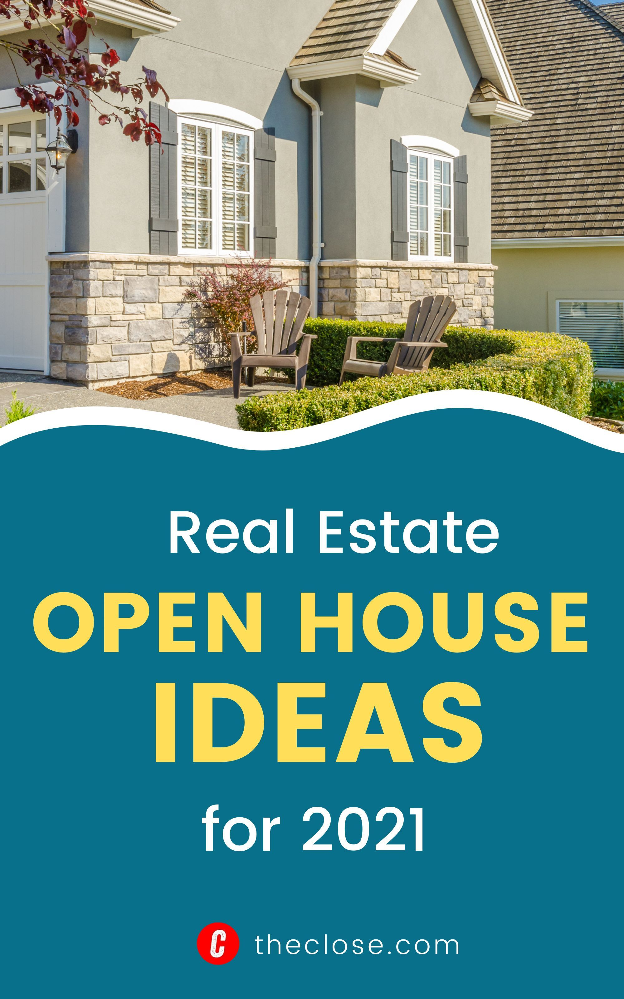 Check out 21 best real estate open house ideas for 2021 that will get you more leads. #openhouseideas #SellingRealEstate #marketingideas #leadgeneration #RealEstateMarketing #openhousemarketing #RealEstateLeads #realestateagents #RealEstateBusiness #theclose