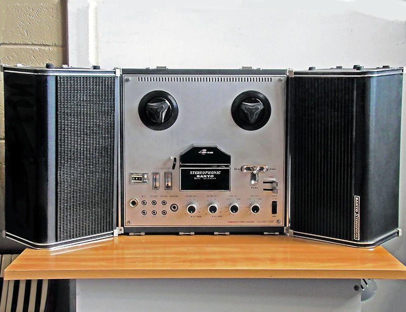 Sanyo MR 929 Stereo 2 Track Reel Tape Recorder