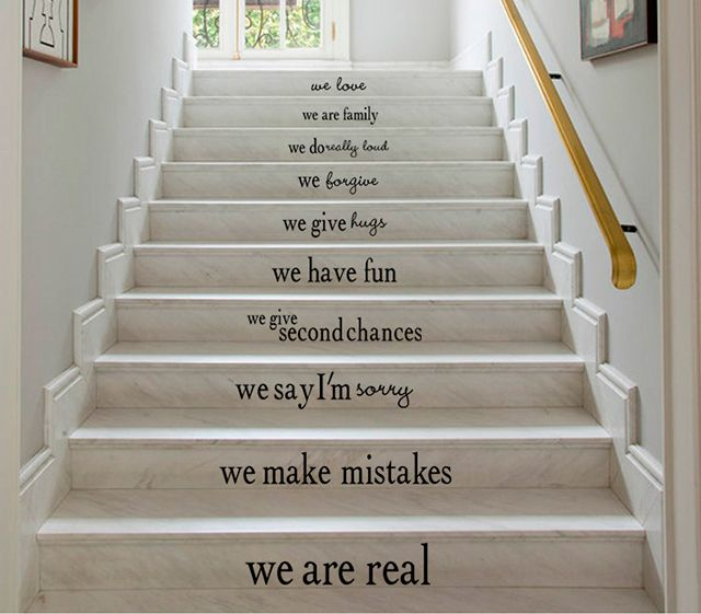 Décorer ses contremarches d\'escalier – Sakarton | DIY | Pinterest ...