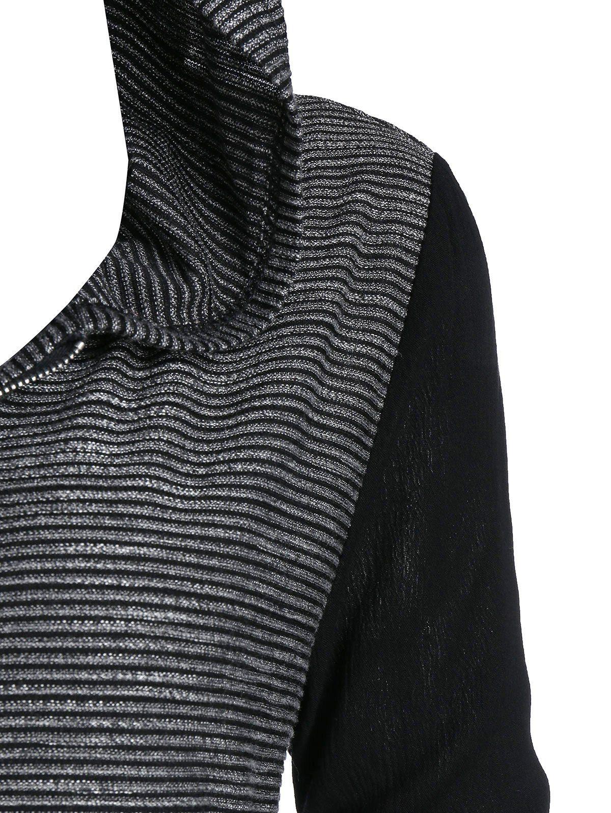 Colmkley Mens Sweater Casual Winter Sweatshirt Zip-up Warm Outwear Jacket Coat