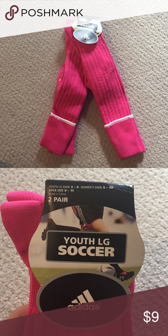 New 2 pair Adidas Soccer Socks Brand new 8d0508729b