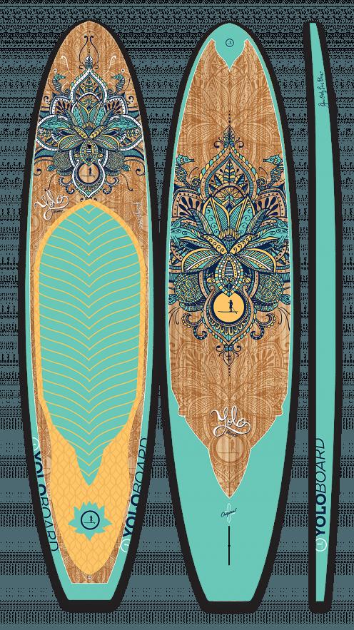 Yolo 12 Original Sup Serenity Aloe Surfing Tablas De Surfing Surfboard Surfboard Art Surfing