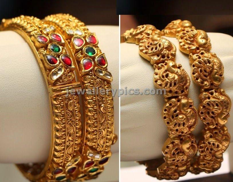 Nagas Bangles Latest Jewellery Designs Bangdi