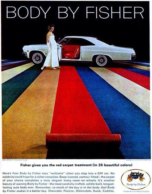 1965 Chevrolet Impala Car Advertising Automobile Advertising Impala