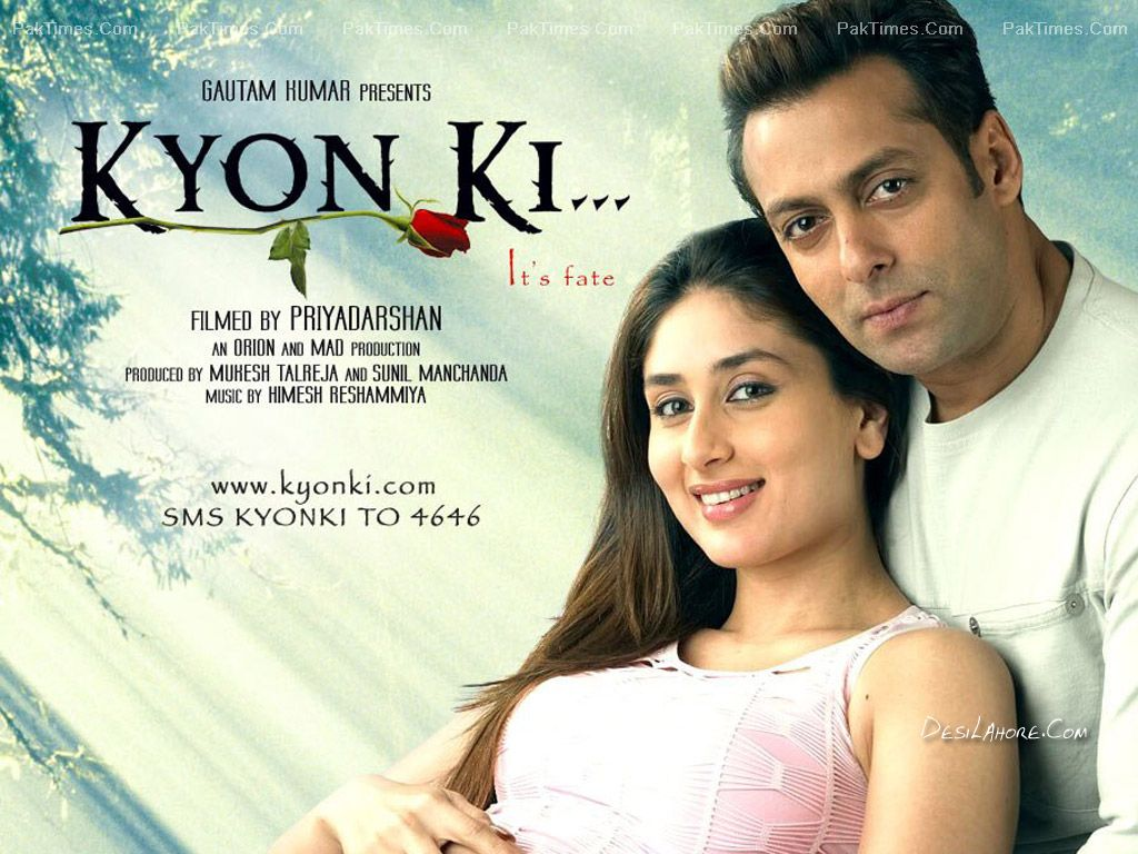 Kyon Ki It S All About Bollywood Bollywood Posters Indian