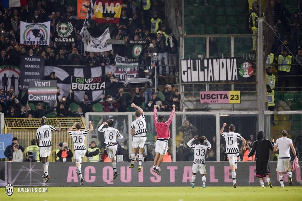 Palermo-Juventus 0-3 #mandzukic #sturaro #zaza