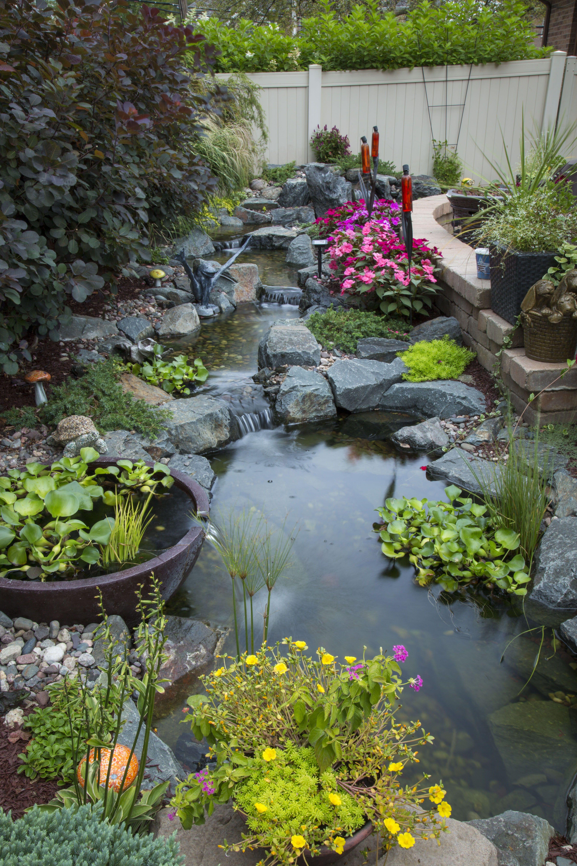 Backyard Design Ideas Water Features Backyard Ponds Aquascape Pond Landscaping Ponds Backyard Fountains Outdoor