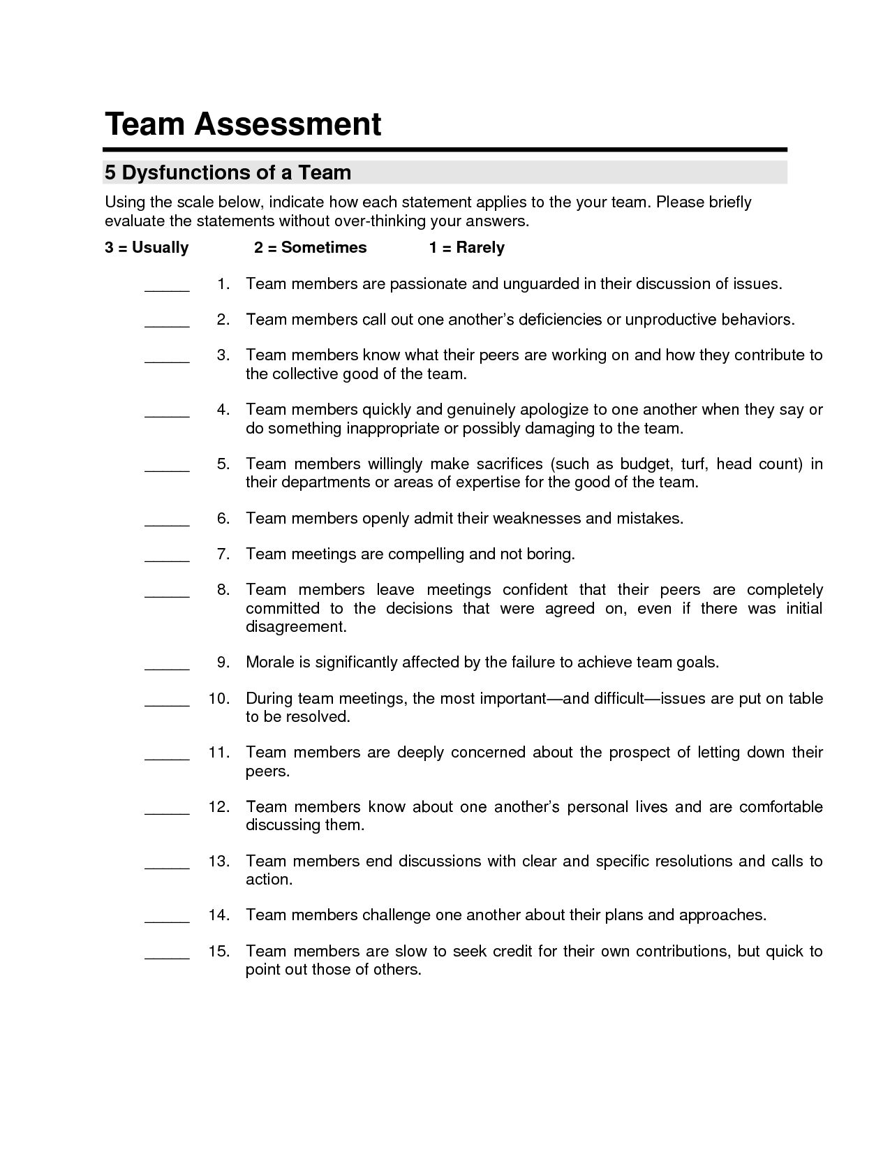 team evaluation sample Download or read online ebook team building evaluation form in to download free team evaluation write the€ this pdf book include peer assessment sample.