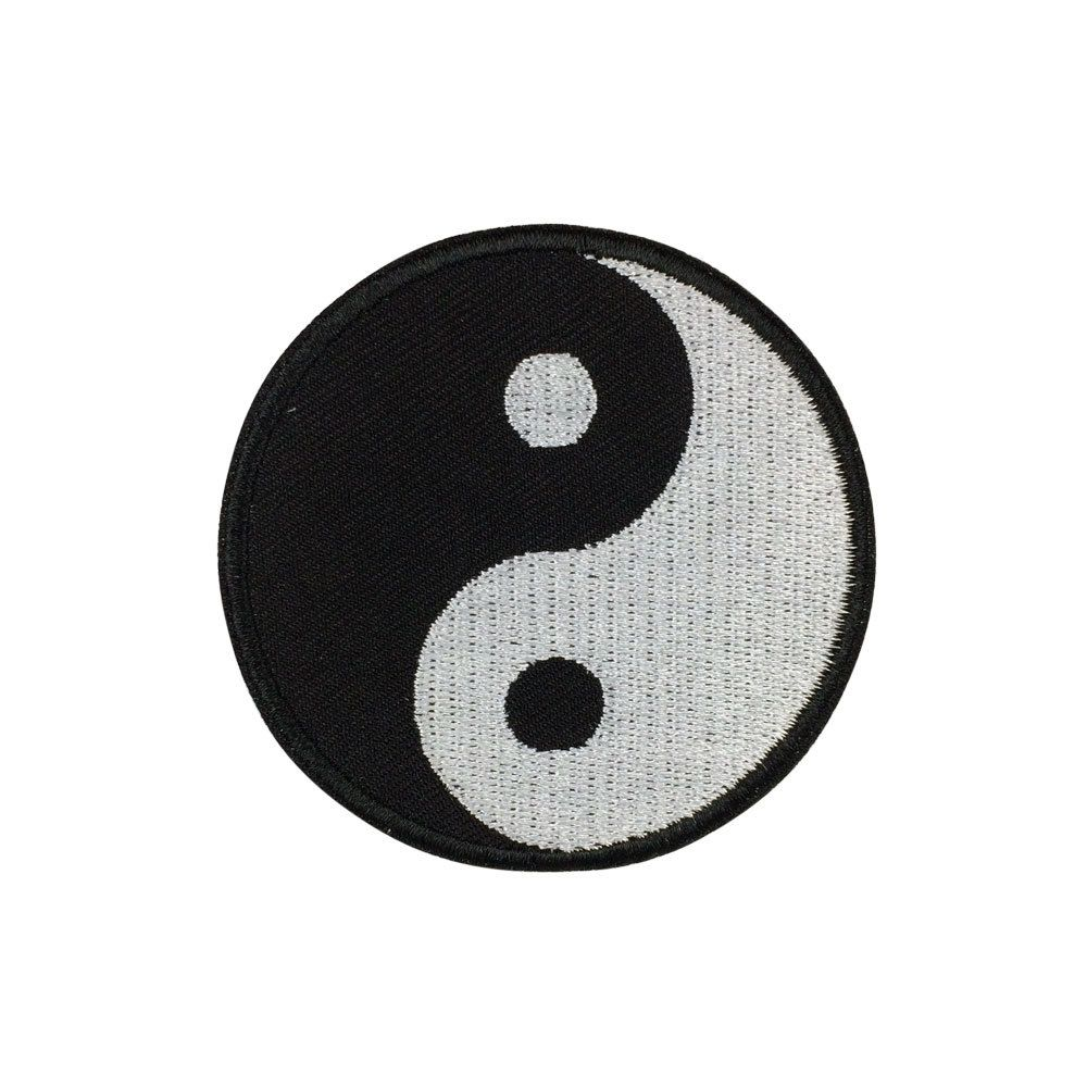Tai Chi Patch Yin Yang Symbol Embroidered Patches Iron On Patch Sew