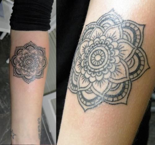 mandala tattoo color google search tatouage pinterest tatouages. Black Bedroom Furniture Sets. Home Design Ideas