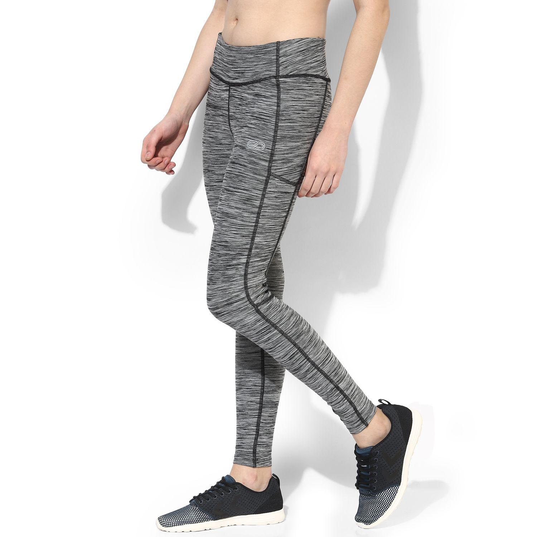 9fd18e4c WOMEN'S MELANGE TRACK LEGGINGS Shop Online India Women's Fitness, Gym Wear  / Apparel. Wicking Sportswear. Designer Workout Wear for Yoga, Running,  Zumba, ...