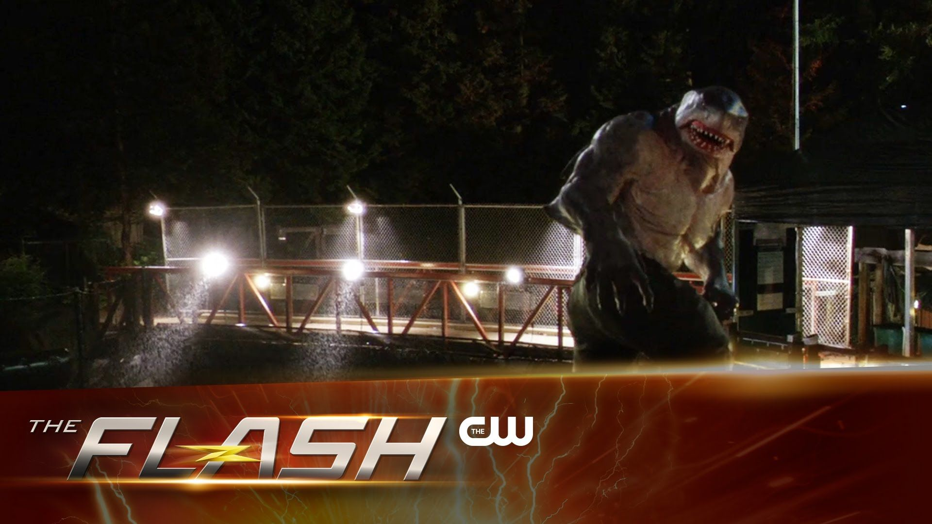 The Flash | King Shark Scene | The CW