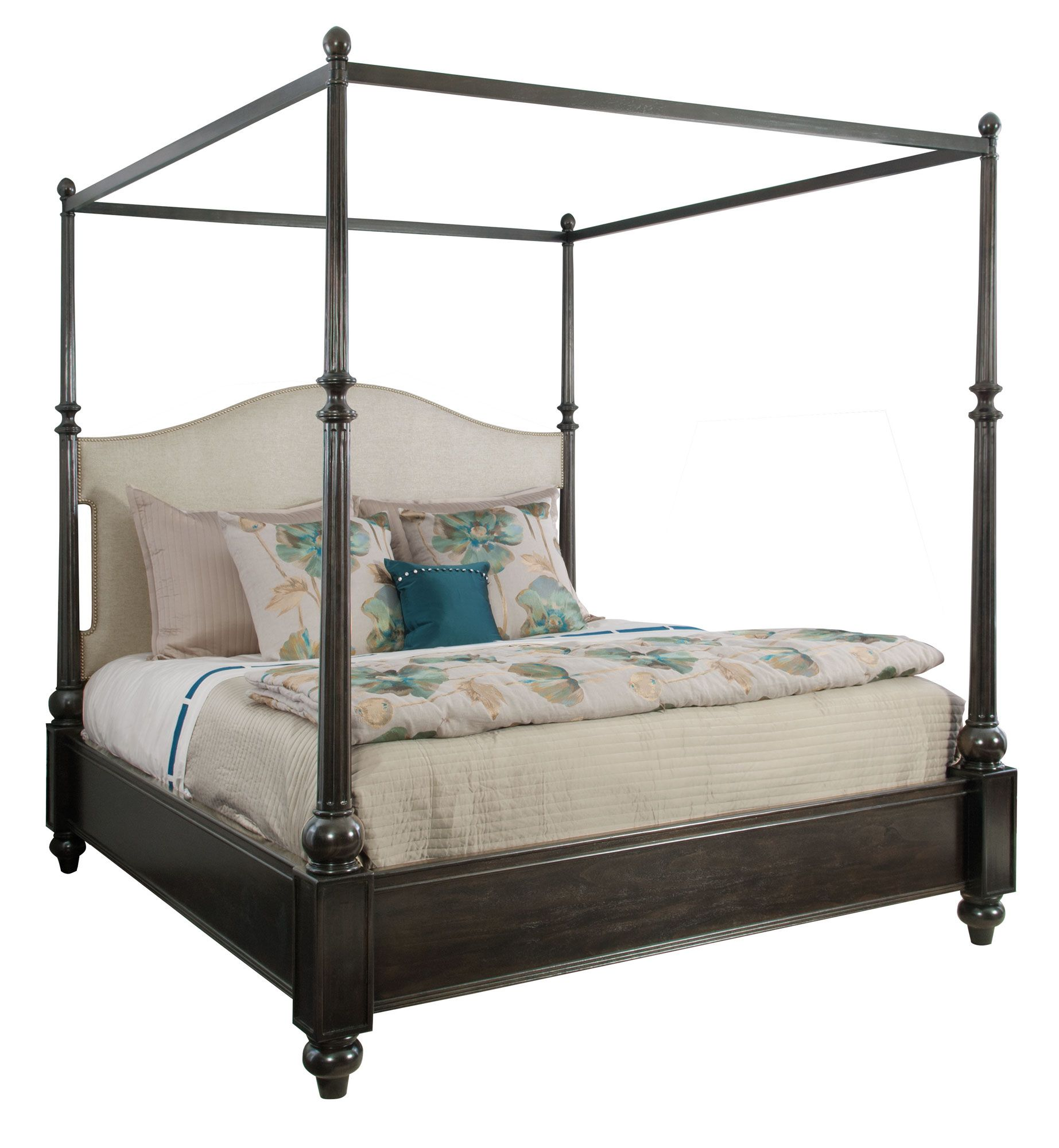 Upholstered Canopy Bed Bernhardt Sutton House Bernhardt