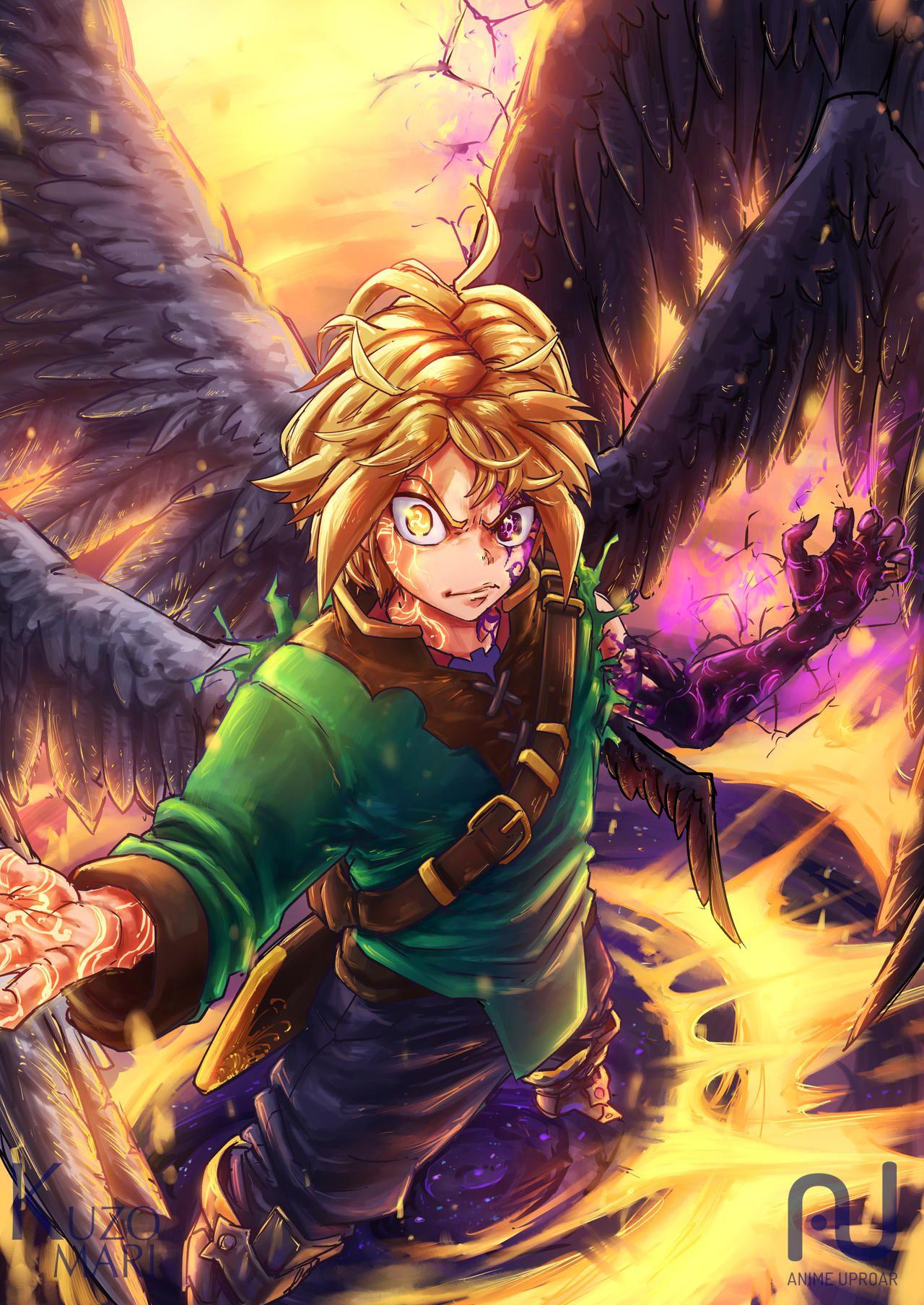 Alesteir, The New Dragon's Sin of Wrath (Satanael, the Son
