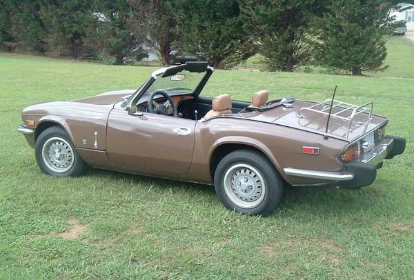 1975 Triumph Spitfire 1500 3500 Mount Airy Nc Forsale Craigslist Triumph Spitfire Triumph Cars Triumph