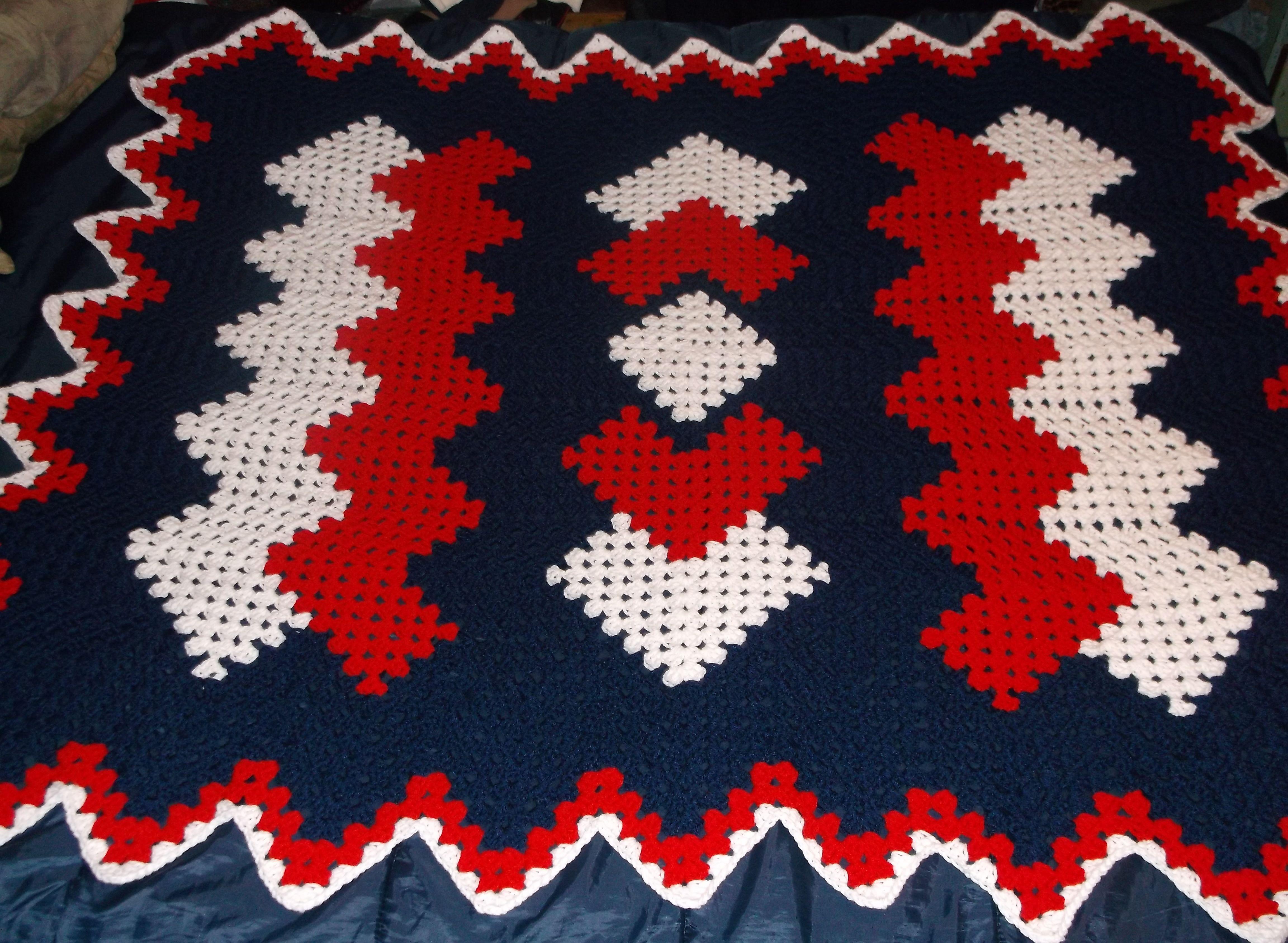 Drop in the Pond Crochet Afghan http://www.freewebs.com/bethintx/dropinthepondlaprobe.htm
