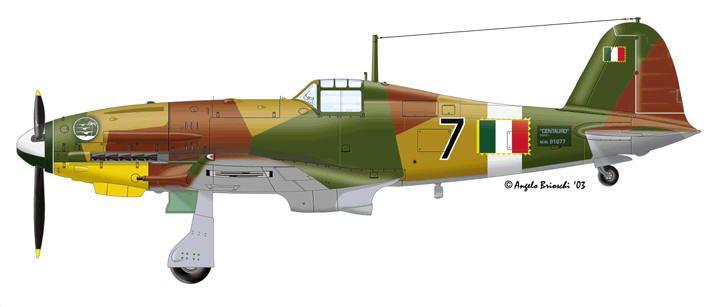 Fiat G-55 Ten. Ugo Drago, maggio 1944 - Aeronautica Nazionale Repubblicana - pin by Paolo Marzioli