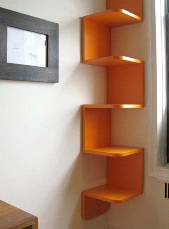 Librero esquina muebles pinterest libreros esquina - Esquineros para pared ...