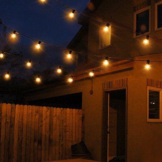 Weihnachtsbeleuchtung Aussen Ersatzbirnen.Lichterkette Außen Oxyled Lichterkette Gluehbirne Aussen G40 25ft