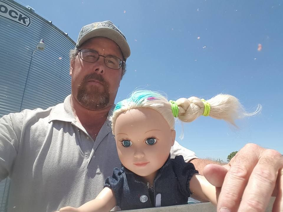 dad babysits daughter s doll and awesomely chronicles the day with