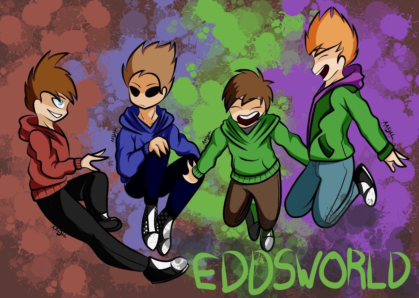 I wanted to draw them again #eddsworld #edd #matt #tord #tom