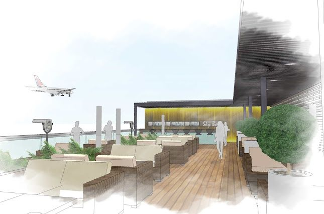 Zagreb Airport Sky Lounge Google Sketchup Showcase Lounge Interiors Lounge Airport Lounge