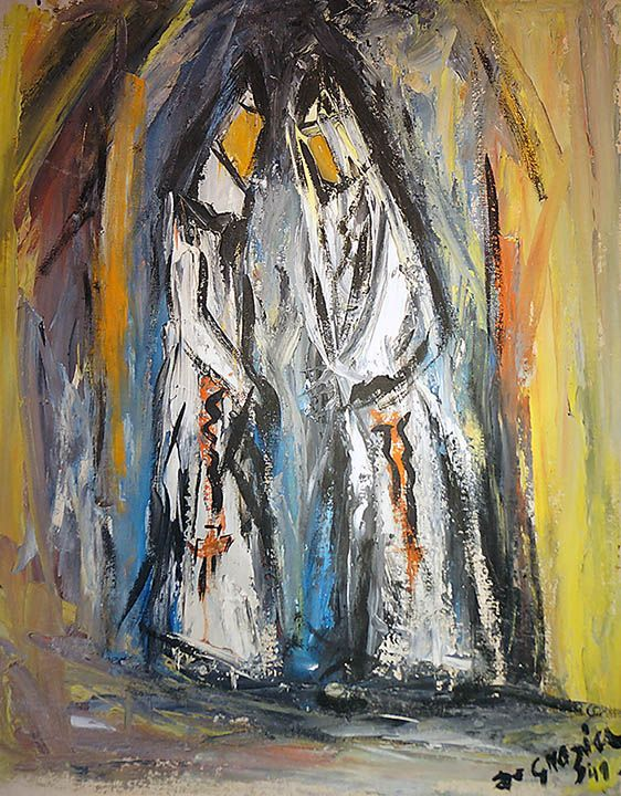 Degrazia S Nuns Feature Nuns At Work Prayer And Play Oil