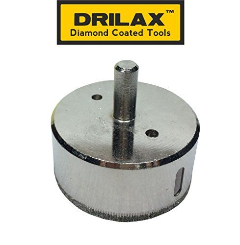 Drilax 212 Diamond Drill Bit Hole Saw For Ceramic Porcelain Tiles Glass Fish Tanks Marble Granite Quartz Diamond Coated Cir Drilling Tools Glass Fish Tanks Porcelain Tile