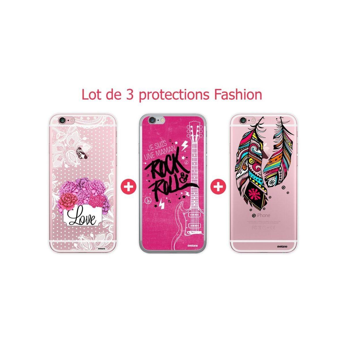 coque iphone 6 lot de 3