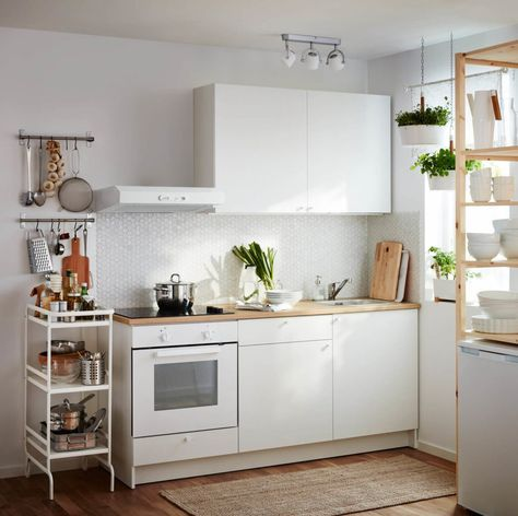 IKEA Küchen 2017 Die 8 schönsten Ideen und Bilder für eine IKEA - ikea kleine küchen
