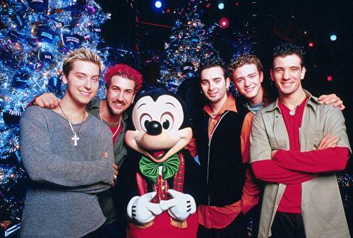 merry christmas happy holidays nsync and disney