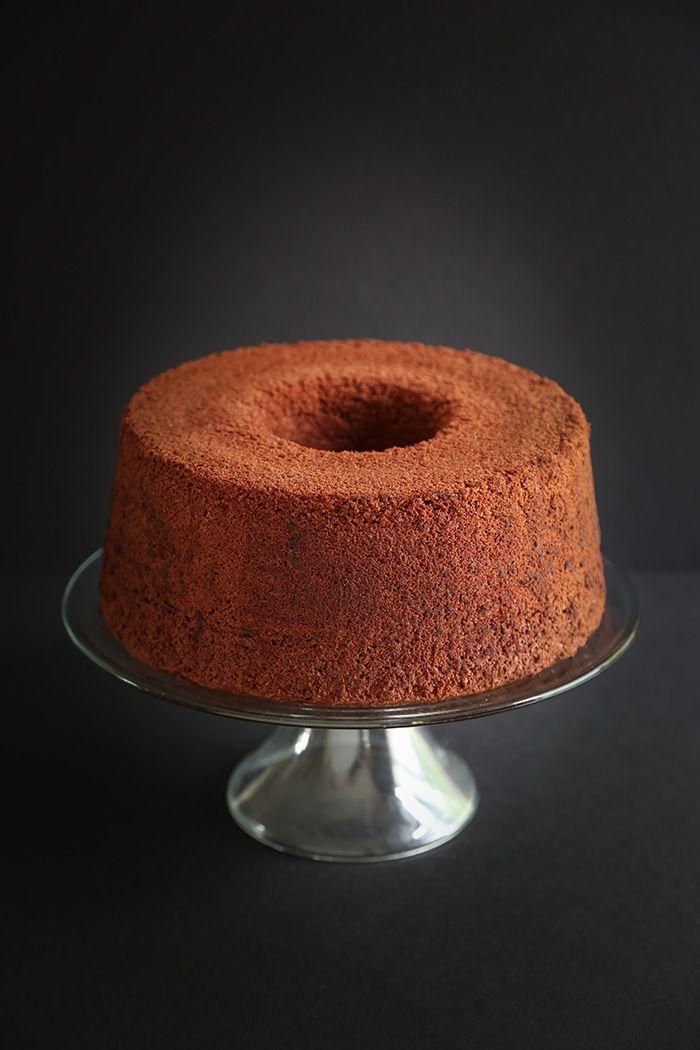 Chocolate Red Wine Chiffon Cake   Sprinkle Bakes