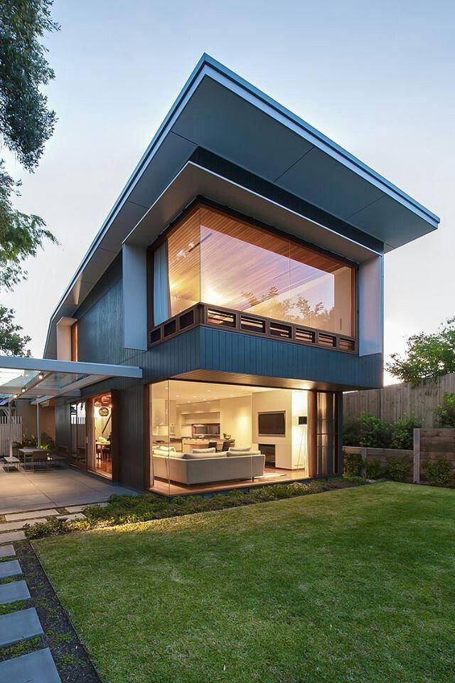 Amazing Glazing Pinterest Cubisme, La maison et Idées pour la - Idee Facade Maison Moderne