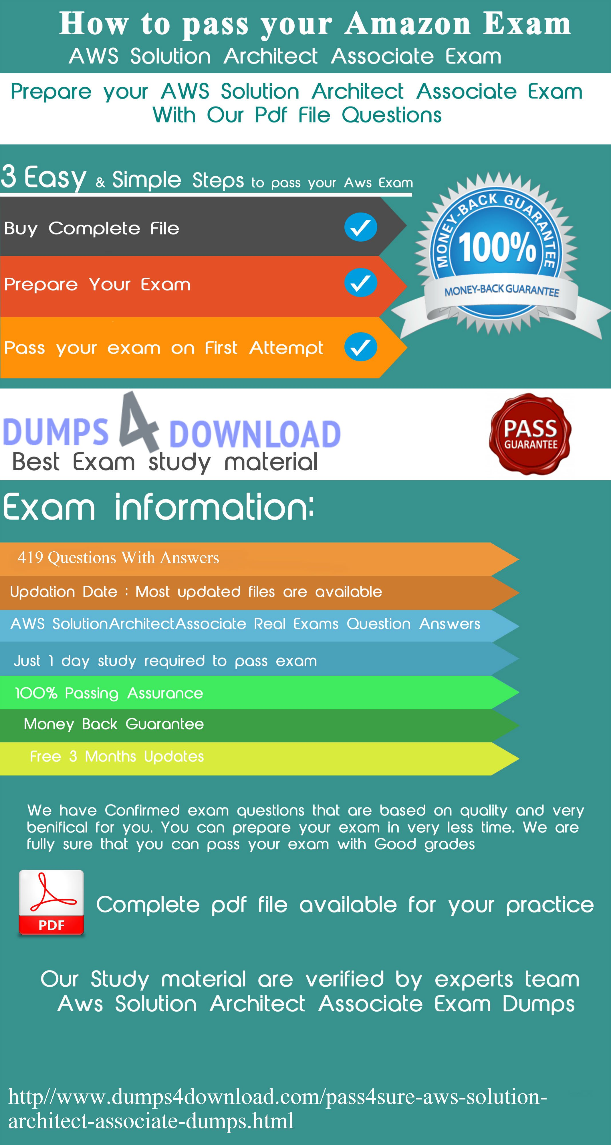 Prepare your aws solution architect associate exam with pass4sure prepare your aws solution architect associate exam with pass4sure dumps it helps your to prepare your 1betcityfo Images