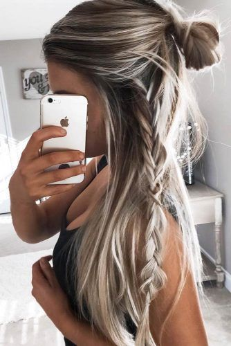 Fast And Easy Hairstyles Inspiration Get Ready In 10 Minutes With Easy Hairstyles For Long Hair  Quick