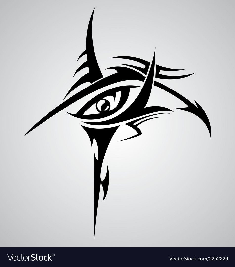 Eyes Tribal Tattoo Design Download A Free Preview Or High Quality Adobe Illustrator Ai Eps Pdf And High In 2020 Tribal Tattoo Designs Tribal Tattoos Egyptian Tattoo