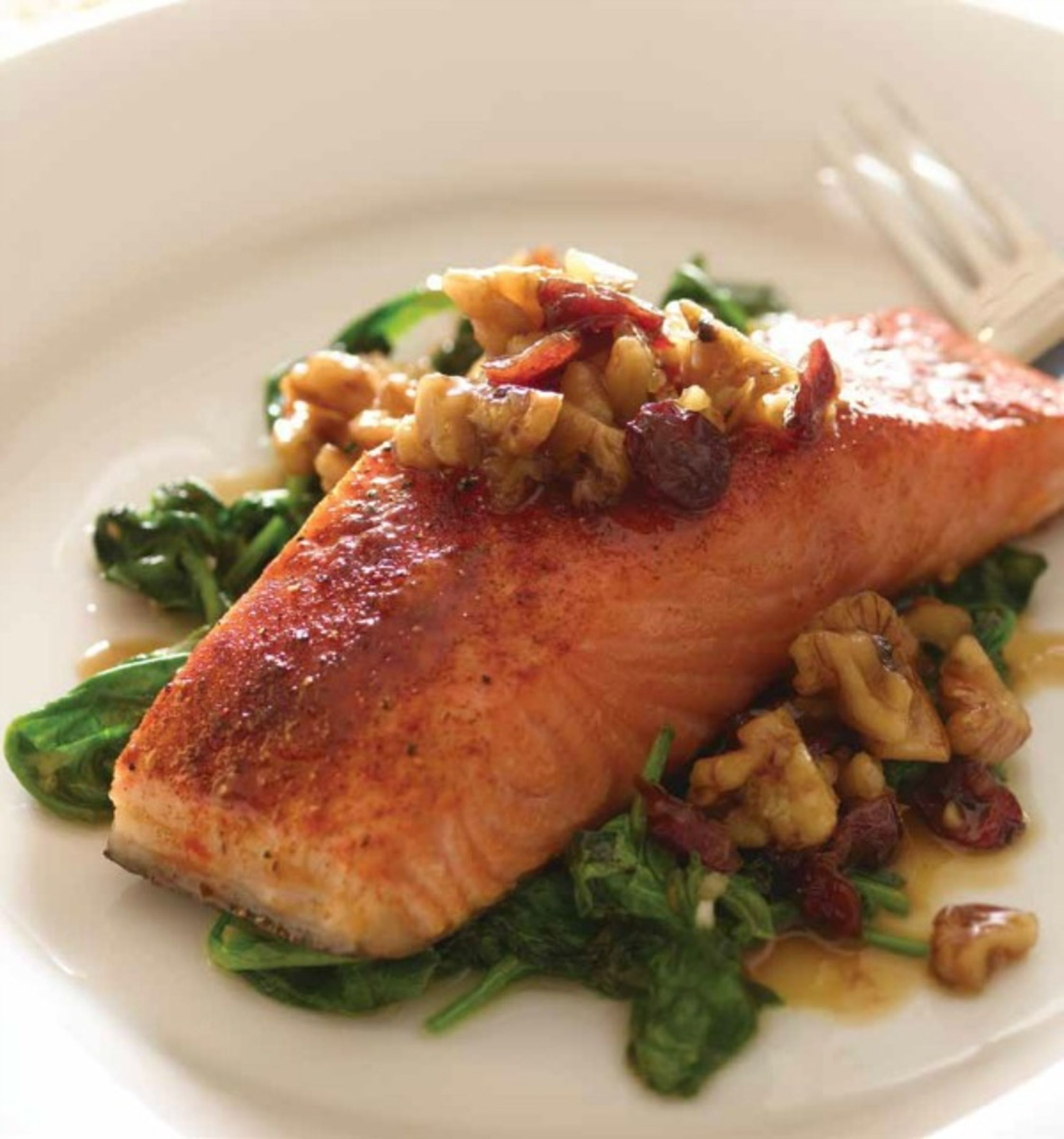 When making this cranberry walnut salmon do not spin or dry the when making this cranberry walnut salmon do not spin or dry the spinach the ccuart Gallery