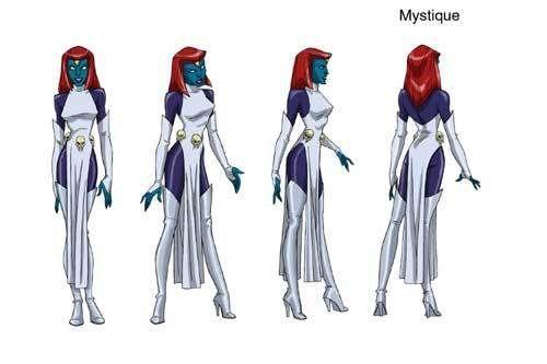 Mystique Cosplays Vampira Herois