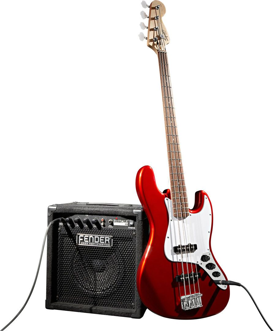 Squier Affinity Jazz Bass Package